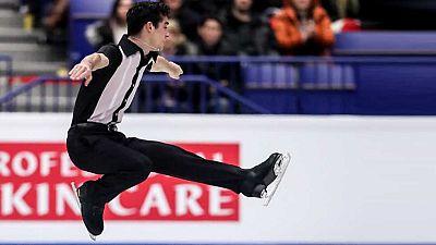 Patinaje Artístico - Campeonato de Europa. Programa Libre Masculino, desde Ostrava - ver ahora