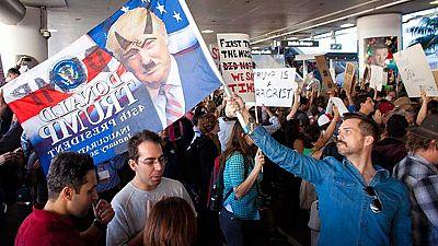 Donald Trump se reafirma en la orden ejecutiva que impide entrar en su país a ciudadanos de siete países de mayoría musulmana