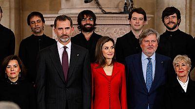 El Rey ha clausurado la conmemoración del IV Centenario de la muerte de Miguel de Cervantes