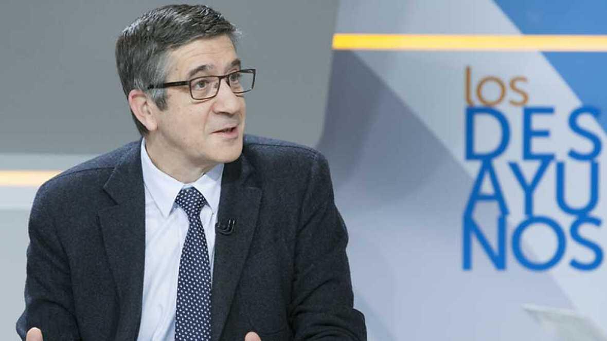 Los desayunos de TVE - Patxi López, candidato a la Secretaría General del PSOE - ver ahora