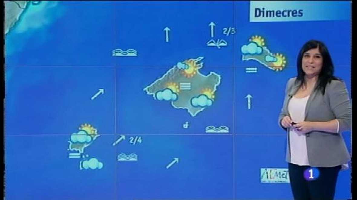 El temps a les Illes Balears - 31/01/17