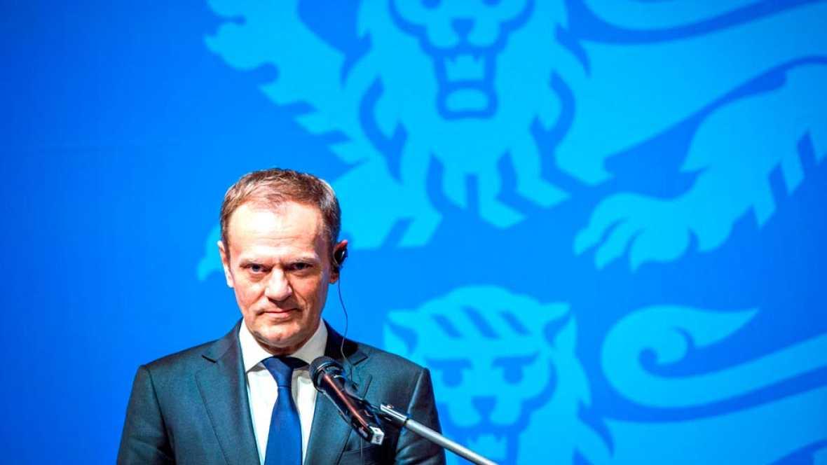 """El presidente del Consejo Europeo considera las políticas de Trump una """"amenaza"""" para la UE"""
