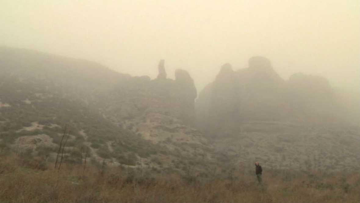"""Niebla """"pajarera"""""""