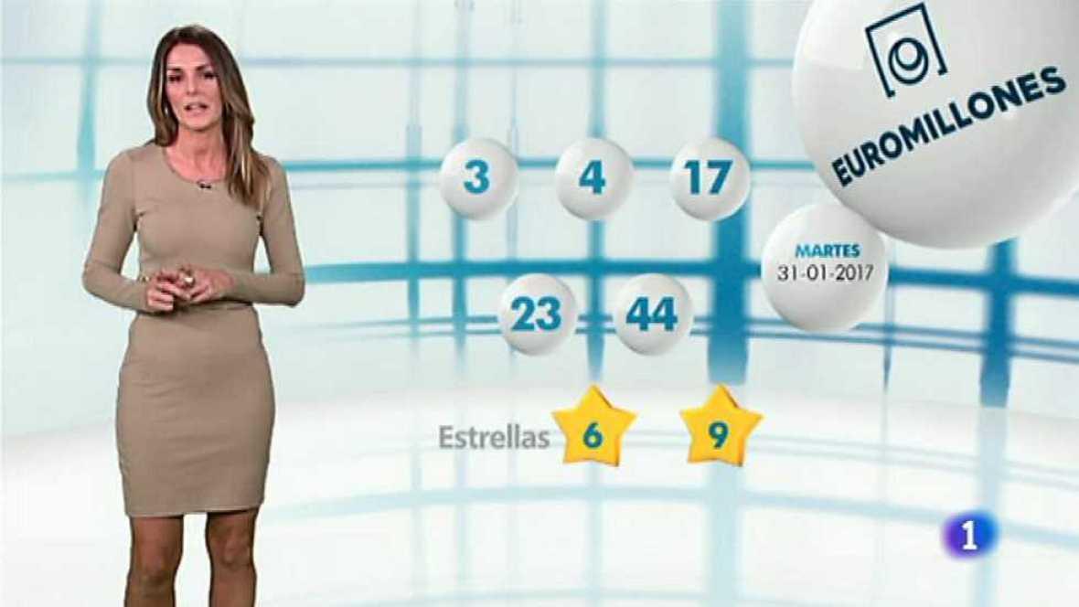Bonoloto + EuroMillones - 31/01/17 - ver ahora