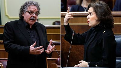"""Santamaría: El Gobierno responderá con la Constitución a los """"abusos de los gobernantes"""" en Cataluña"""