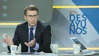 Los desayunos de TVE - Alberto Núñez Feijóo, presidente de la Xunta de Galicia, y Josu Erkoreka, portavoz del Gobierno vasco - ver ahora