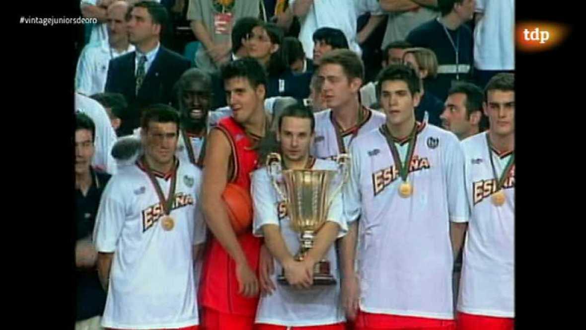 Conexión vintage - Baloncesto Juniors de oro 1999 - 02/02/17 - ver ahora