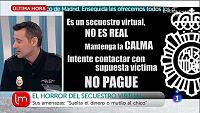Atención a los falsos secuestros virtuales