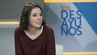 Los desayunos de TVE - Irene Montero, portavoz adjunta de Unidos Podemos en el Congreso - ver ahora