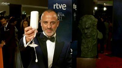 Goyas Golfos 2017 - Javier Gutierrez en la Cámara Glamur