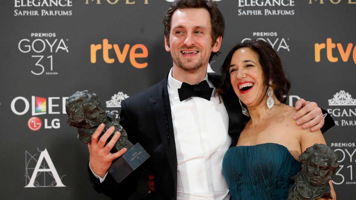 'Tarde para la ira'. premio Goya a la mejor película de 2017
