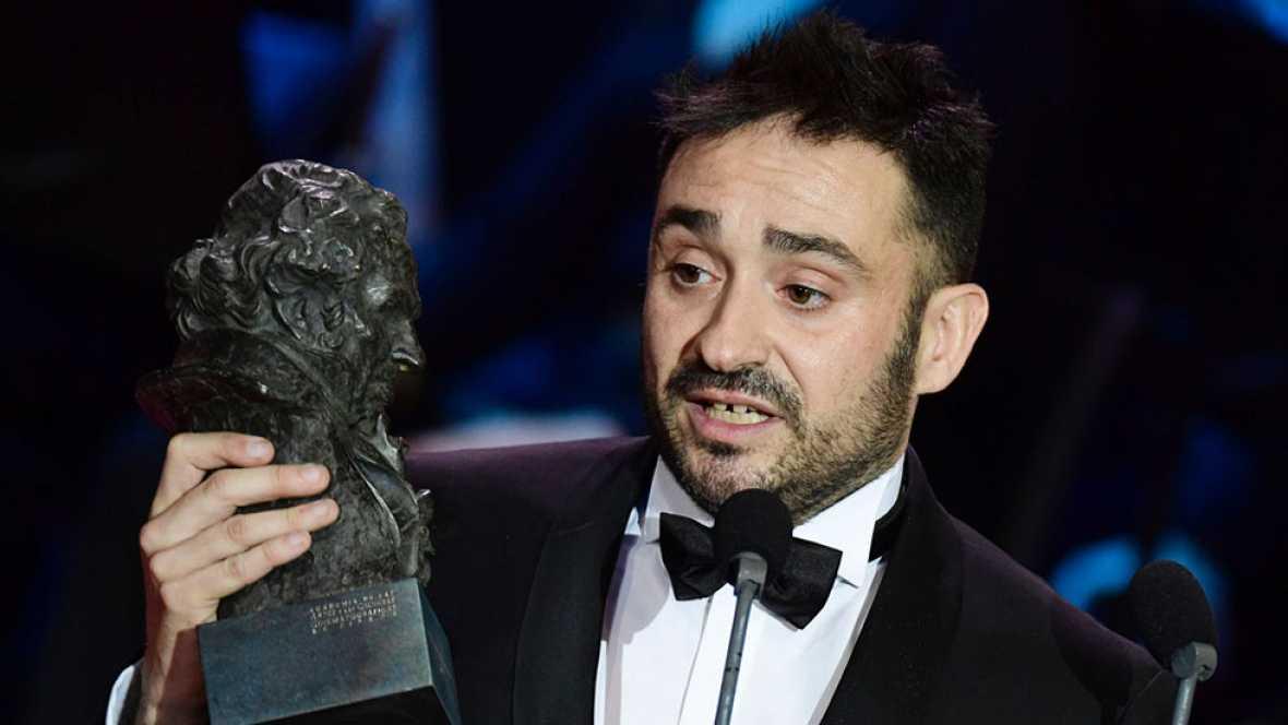 Juan Antonio Bayona, mejor director por 'Un monstruo viene a verme' en los Premios Goya 2017