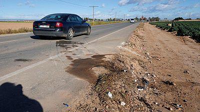Fallecen cinco jóvenes en un accidente de tráfico en Murcia