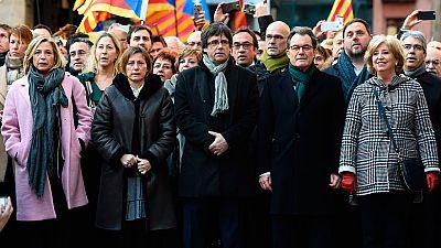 El TSJC juzga desde este lunes a Mas, Ortega y Rigau por la consulta del 9N