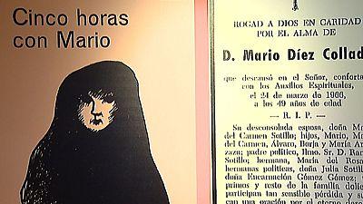 La Biblioteca Nacional inaugura mañana la exposición 'Cinco horas con Mario'