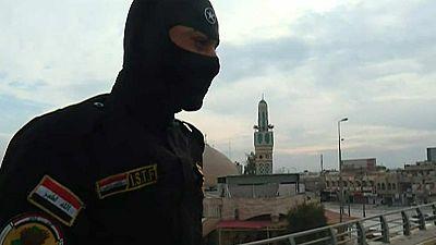 Así patrullan Mosul las tropas de élite de Irak que combaten al Estado Islámico