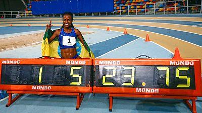 Genzebe Dibaba consigue el récord  mundial de 2.000 metros en Sabadell