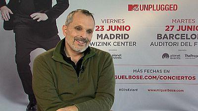 Miguel Bosé preparado para la gira mexicana de su nuevo disco