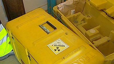 Los Mossos d'Esquadra buscan una maleta con material radioactivo