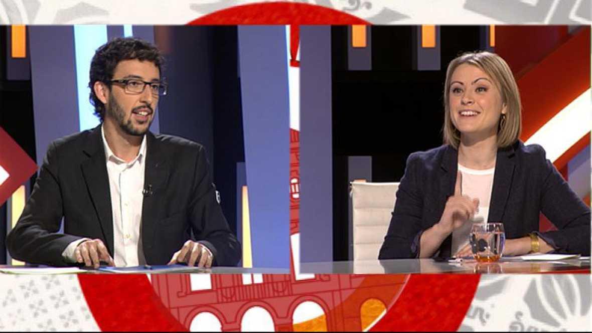 Aquí Parlem - Maria Senserrich de Junts pel Sí i el diputat Juan Milián del Partit Popular de Catalunya
