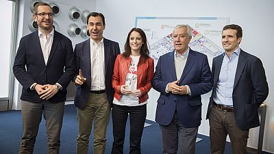 Arranca el Congreso Nacional del PP en el que Rajoy será reelegido de nuevo presidente del partido