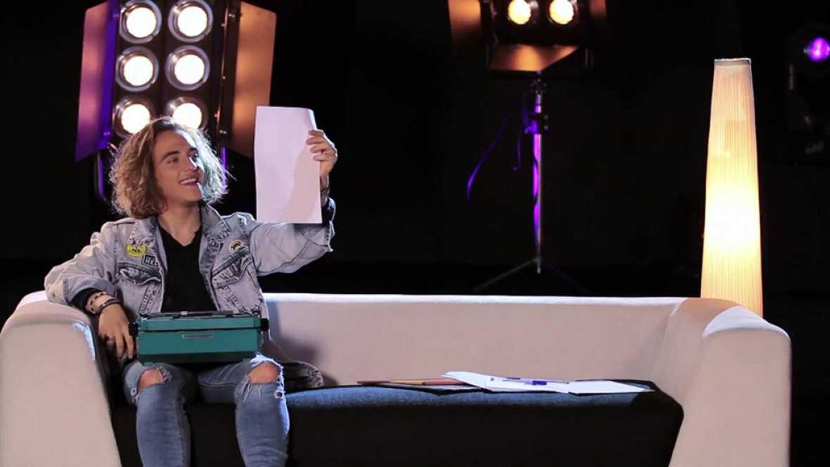 "Objetivo Eurovisión - Manel: ""Si no hubiese sido cantante, sería futbolista"""