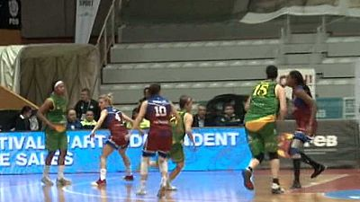 Baloncesto - Copa S.M.La Reina 1/4 final: Lointek Gernika Bizkaia-CB AL Qázeres Extremadura - ver ahora