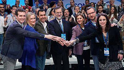 Rajoy, reelegido presidente del PP sin oposición