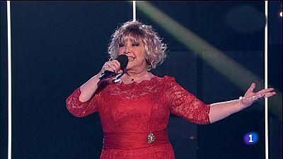 Objetivo Eurovisión - Karina y su 'Un mundo nuevo', en 'Objetivo Eurovisión'