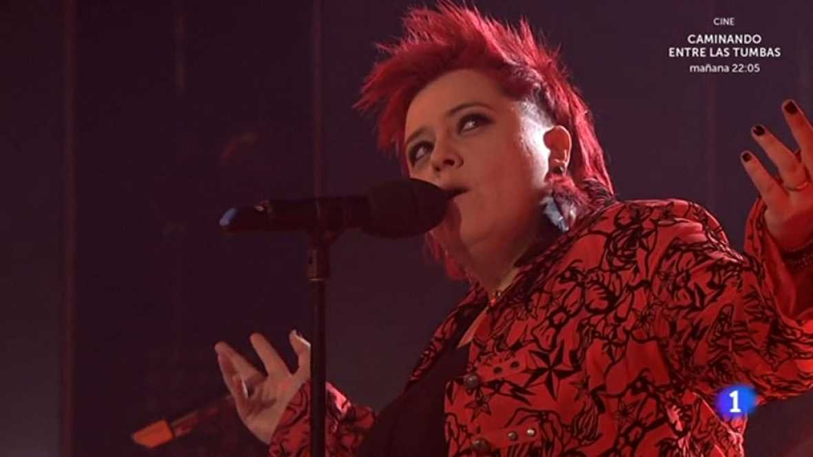 """Maika Barbero se presenta con """"Momento crítico"""", la propuesta más diferente de los seis finalistas con un fuerte componente rockero."""