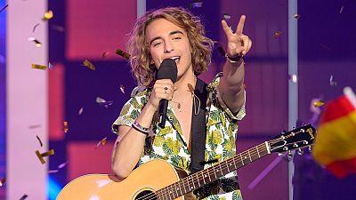 El ganador de 'Objetivo Eurovisión' canta 'Do it for yor Lover', el tema con el que España se presentará a Eurovisión 2017 en Kiev.