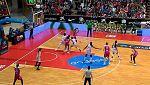 Baloncesto - Copa S.M.La Reina 1ª Semifinal: Lacturale Araski-Spar Citylift Girona