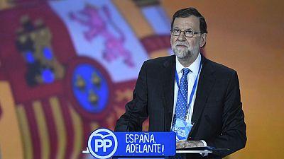 """Mariano Rajoy: """"El PP es un partido unido, democrático y serio"""""""