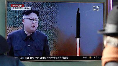 Primer desafío militar de Kim Jong-Un con Donald Trump en la Casa Blanca