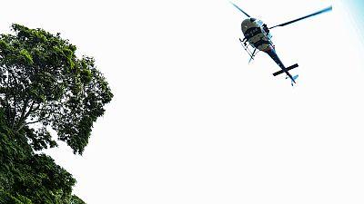 La unidad aérea de los mossos controla desde el aire las zonas más aisladas de Barcelona