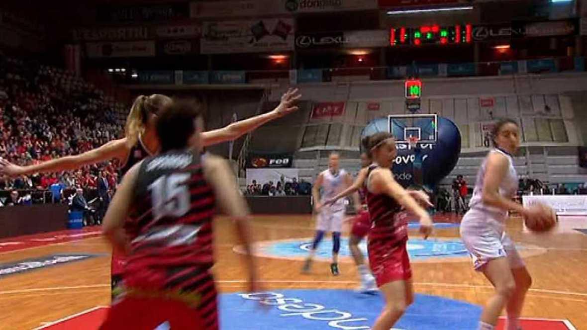 Baloncesto - Copa S.M.La Reina  Final desde Girona: Perfumerías Av.-Spar Citylift Girona - ver ahora