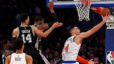 Willy Hernángomez brilla como titular en los Knicks