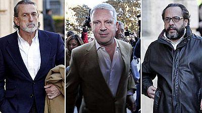 El TSJCV ordena el ingreso en prisión de Correa, Crespo y Pérez para que no eludan a la justicia