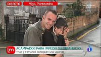 La pareja desahuciada en Vigo encuentra vivienda
