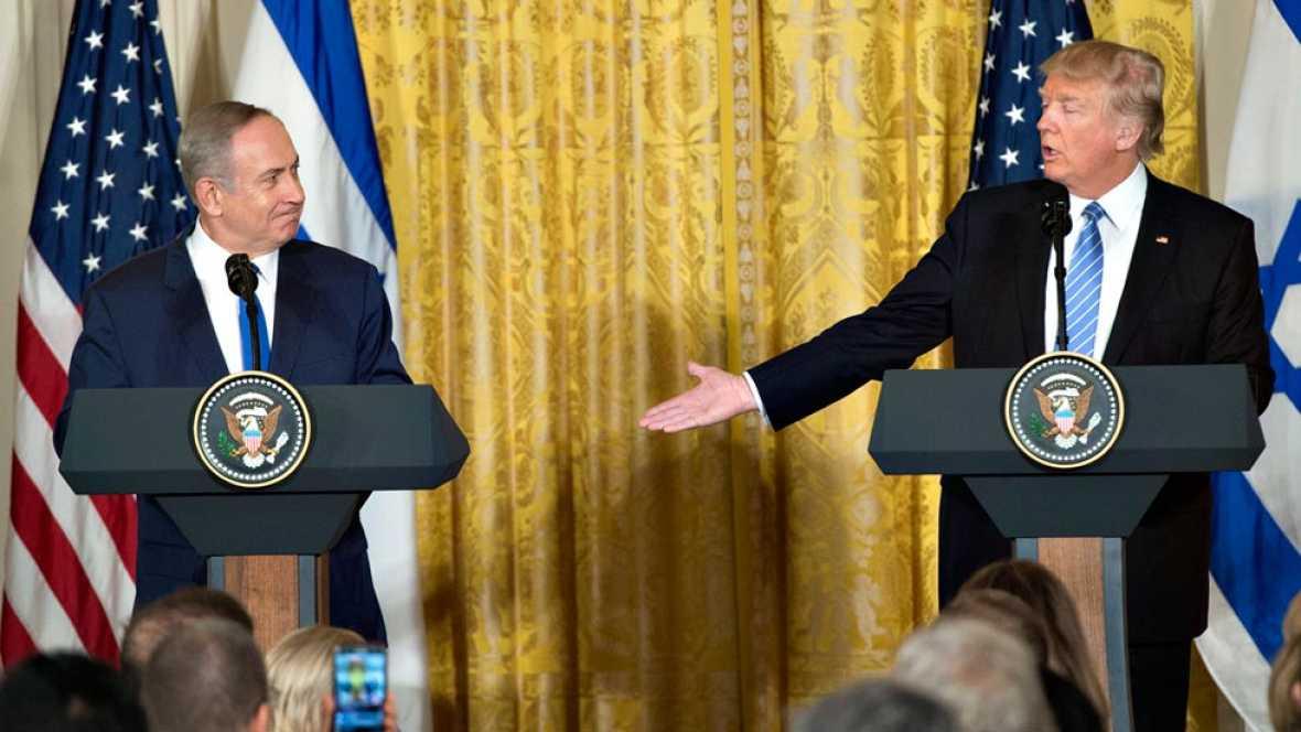 Trump abre la puerta a un acuerdo en Oriente Medio que no contemple un Estado palestino