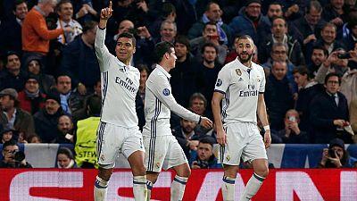 El Madrid, satisfecho, pero sin confiarse tras la victoria ante el Nápoles