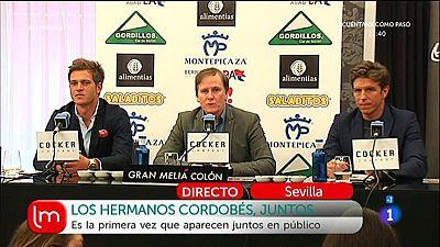 Manuel Díaz y Julio Benitez, juntos por primera vez