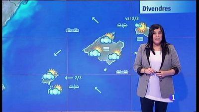 El temps a les Illes Balears - 16/02/17