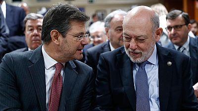El fiscal general del Estado niega presiones para interrumpir la investigación contra el presidente de Murcia