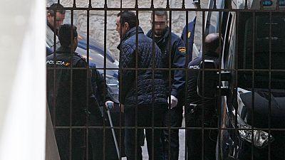 Miguel López, acusado de asesinar a la viuda del expresidente de la CAM, comparece ante el juez