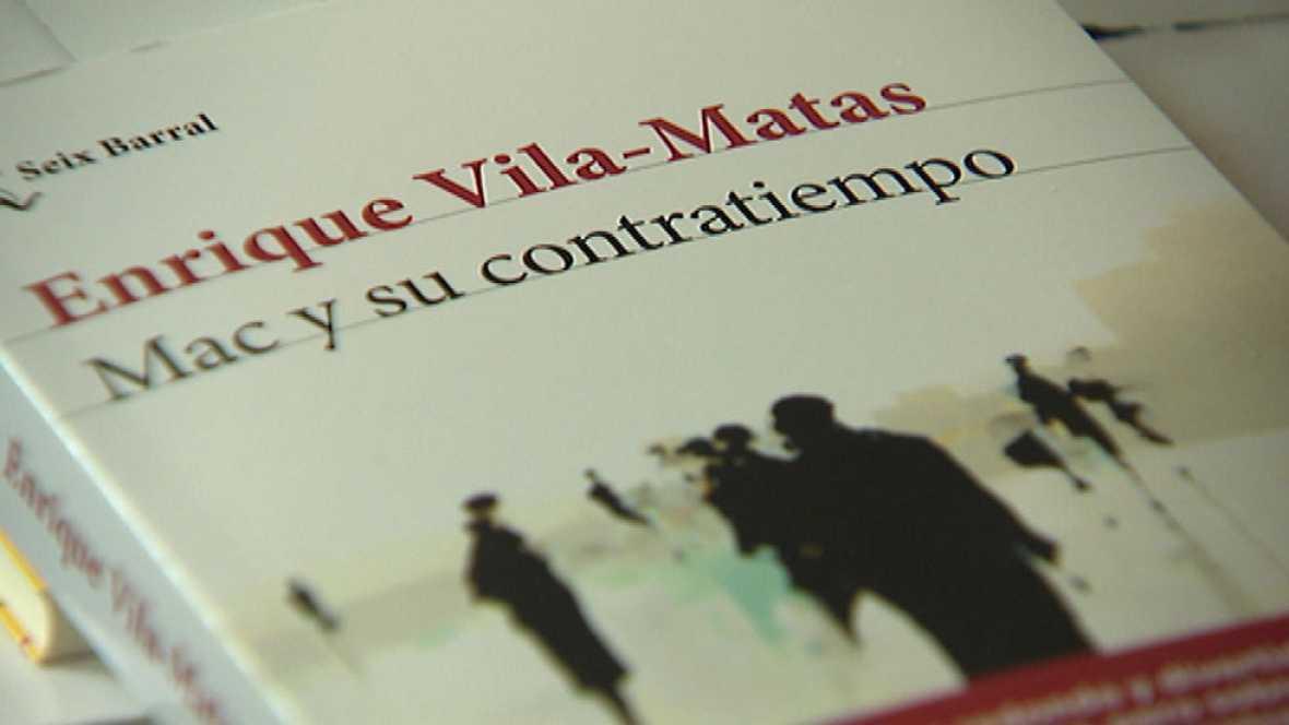 """Enrique Vila-Matas, uno de los escritores más seguidos en España, presenta nueva novela: """"Mac y su contratiempo"""""""