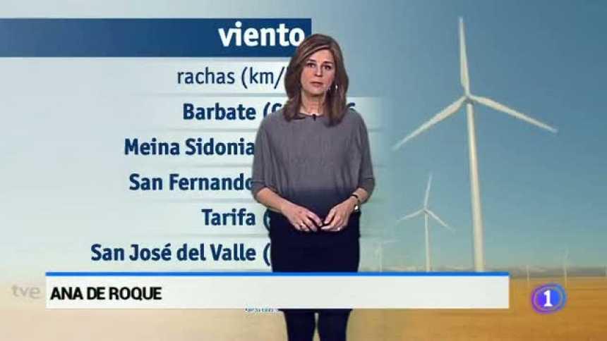 El tiempo en Andalucía  - 16/02/2017