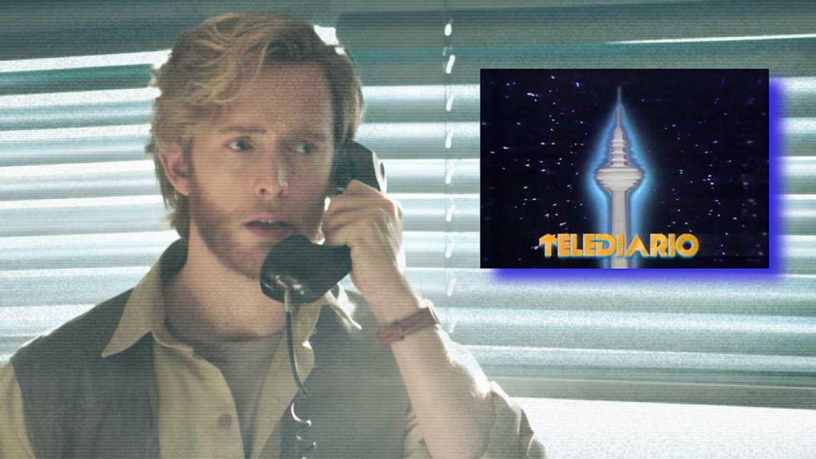Cuéntame cómo pasó - El Telediario de 1985 anuncia el regreso de Toni