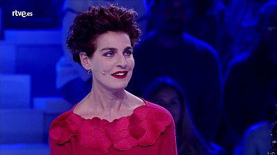 """El gran reto musical - Eva González a Antonia Dell'Atte: """"¿Dónde vas, Antonia?"""""""