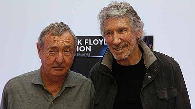 Londres se prepara para acoger los 'restos mortales' de Pink Floyd